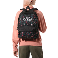Vans REALM BACKPACK BEAUTY FLORAL BLACK