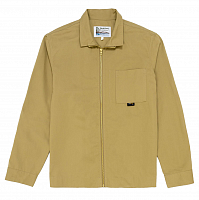 GARBSTORE ZIP OVER SHIRT TAN
