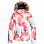Roxy JET SKI JK J SNJT BRIGHT WHITE AQUAREL FLOWERS