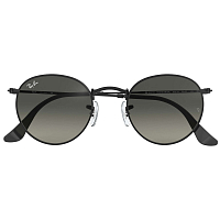 Ray Ban Round Metal BLACK/LIGHT GREY GRADIENT DARK GREY