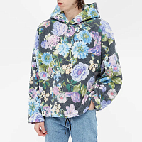 MARTINE ROSE Bongo Batwing BLACK/PURP/BLUE