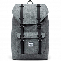 Herschel Little America RAVEN CROSSHATCH/BLACK RUBBER