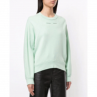 Proenza Schouler White Label Logo Sweatshirt SPEARMINT