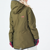 Planks THE People's Parka Army Green
