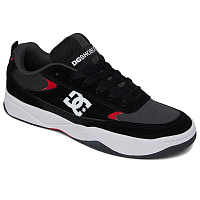 DC PENZA M SHOE GREY/BLACK/RED