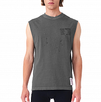 SATISFY MOTH EATEN MUSCLE TEE SHADOW