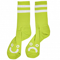 Polar HAPPY SAD SOCKS LIME