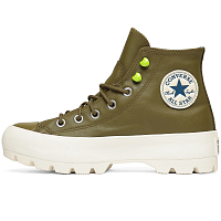 Converse CHUCK TAYLOR ALL STAR LUGGED WINTER HI COMBAT GREEN