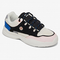 DC Decel J Shoe Black/Pink/Blue