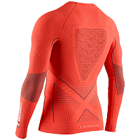 X-Bionic ENERGY ACCUMULATOR 4.0 SHIRT ROUND NECK LG SL MEN SUNSET ORANGE/ANTHRACITE