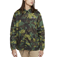 Hurley M SIEGE COACHES JACKET GREEN NOISE