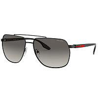 Prada Linea Rossa 0PS 55VS BLACK/GREY GRADIENT
