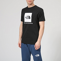 The North Face M S/S RAG RED BOX TE TNFBLACK (KY4)