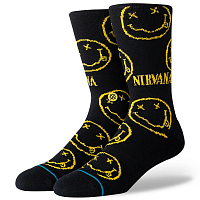 Stance NIRVANA FACE BLACK