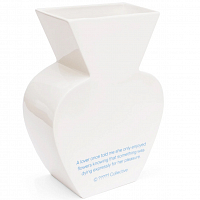 LIARS COLLECTIVE VASE FOR LOVERS White