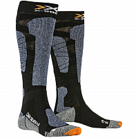 X-Socks Carve Silver 4.0 BLACK/BLUE MELANGE