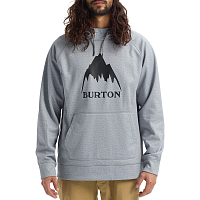 Burton M CROWN BNDD PO GRAY HEATHER