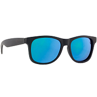 Majesty L+ black/graphite with blue mirror lenses