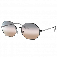 Ray Ban Octagon GUNMETAL/PINK GRADIENT GREY