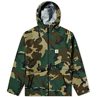 Carhartt WIP GORE TEX POINT JACKET CAMO LAUREL