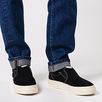 Stepney Workers Club LISTER M SUEDE BLACK