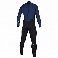 Mystic STAR FULLSUIT 5/3MM BZIP NAVY