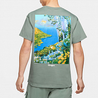 Nike M NRG ACG SS CRATER LAKE TEE CLAY GREEN/WHITE