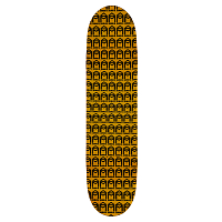Sk8mafia AO HOUSE ASSORTED STAIN DECK 8,25