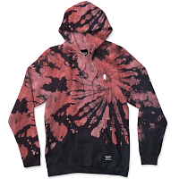 Grizzly EMBROIRDERED FRUITPUNCH HOODIE TIE DYE