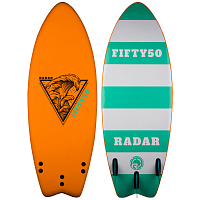 Radar BLEM FIFTY50 SURFER Orange / Sea Foam Green