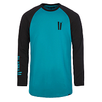 Planks Planks Sticks Long Sleeve T-shirt MIDNIGHT TEAL