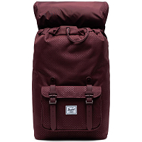 Herschel Little America Mid-Volume PLUM DOT CHECK
