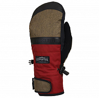 686 MNS INFILOFT RECON MITT RUSTY RED COLORBLOCK