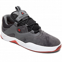 DC Kalis LE M Shoe GREY/BLACK/RED