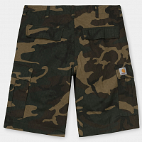 Carhartt WIP Regular Cargo Short CAMO LAUREL (RINSED)