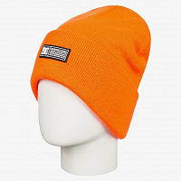 DC LABELYTHBEANIE HDWR SHOCKING ORANGE