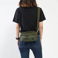Porter-Yoshida & Co Force 2way Waist BAG Olive Drab
