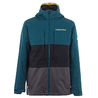 686 MNS SMARTY 3-IN-1 FORM JACKET DEEP TEAL COLORBLOCK