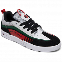 DC LEGACY98 SLM M SHOE WHITE/BLACK/GREEN