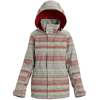 Burton W JET SET JK AQUA GRAY REVEL