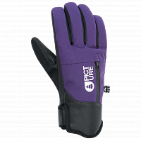 Picture organic MADSON GLOVES PURPLE