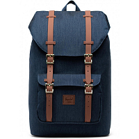 Herschel Little America Mid-Volume INDIGO DENIM CROSSHATCH