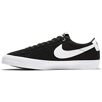 Nike SB ZOOM BLAZER LOW PRO GT BLACK/WHITE-BLACK-GUM LIGHT BROWN