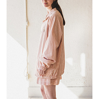 STORY MFG PUB JACKET APPLE JAM GINGHAM