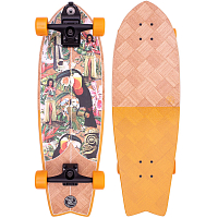 Z-Flex BANANA TRAIN SURFSKATE FISH 31