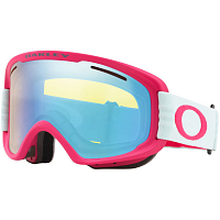 Oakley O FRAME 2.0 PRO XM STRONG RED JASMINE W/HI YELLOW IRIDIUM & DARK GREY
