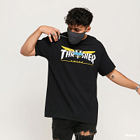 Thrasher VENTURE COLLAB S/S BLACK