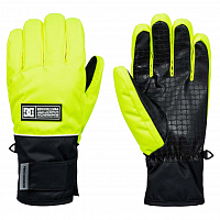DC FRANCHISE GLOVE M GLOV SAFETY YELLOW