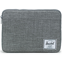 Herschel ANCHOR SLEEVE FOR NEW 13 INCH MACBOOK Raven Crosshatch