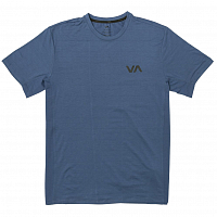 RVCA VA VENT SS TOP SURPLUS BLUE